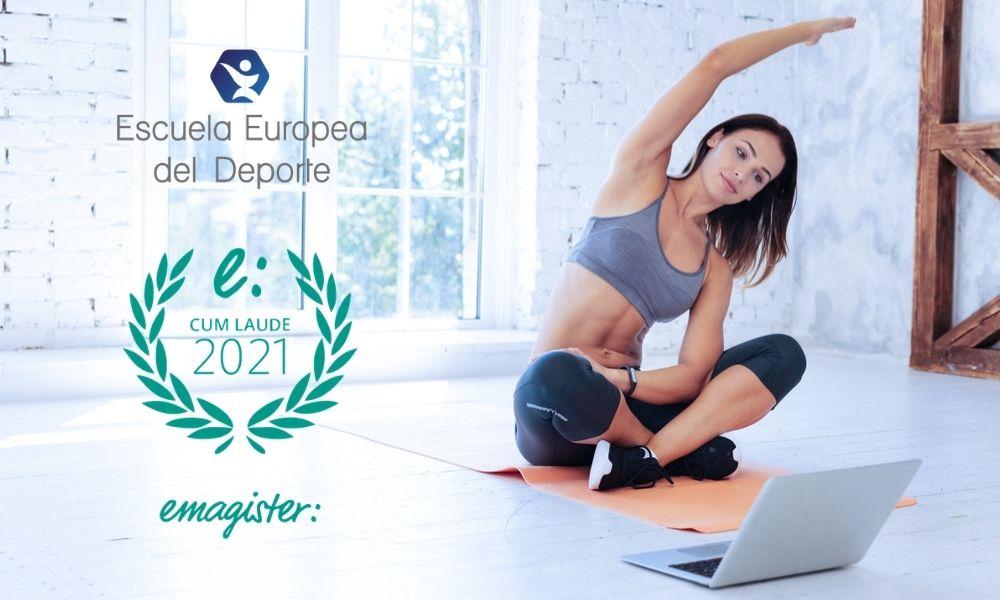 La Escuela Europea del Deporte logra el Sello Cum Laude 2021