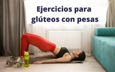 Los mejores ejercicios para glúteos con pesas