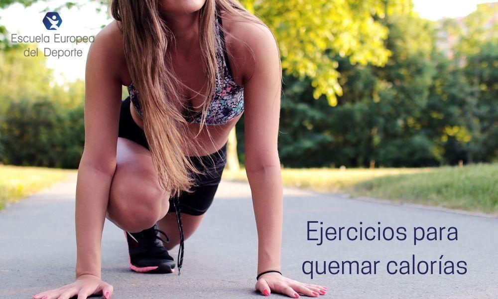 Cinco ejercicios para quemar calorías