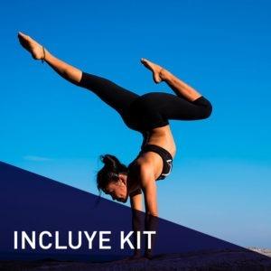 Estudiar curso monitor de yoga y coach deportivo con kit de yoga