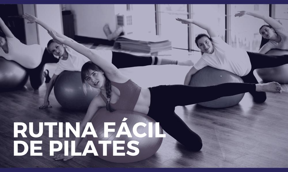 Clases de pilates: ejercicios fáciles para hacer en casa