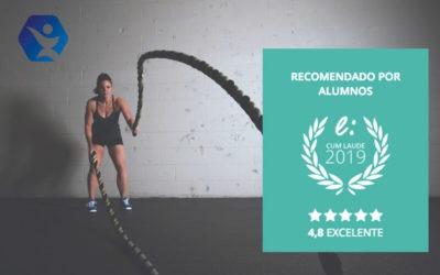 La Escuela Europea del Deporte obtiene el Sello Cum Laude 2019