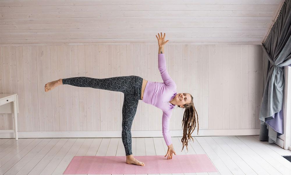 Yoga terapéutico para practicar en casa